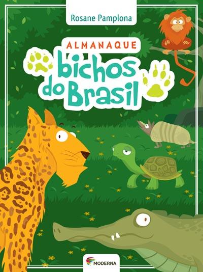 Capa Almanaque bichos do Brasil