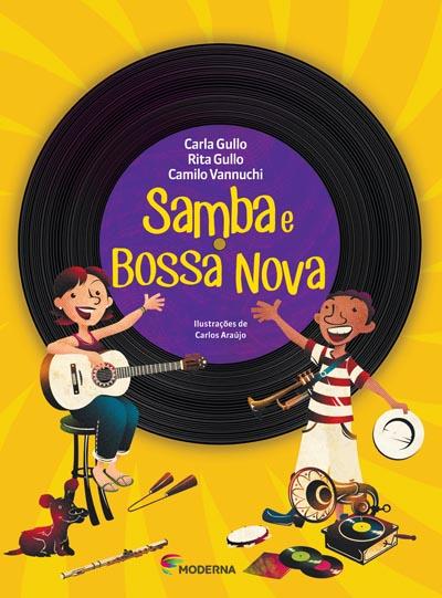 Capa Samba e bossa nova