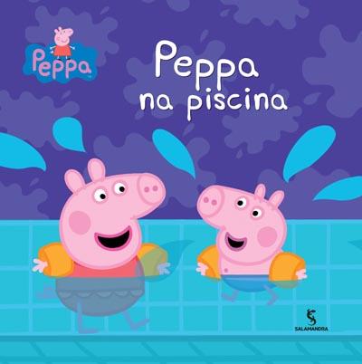 Capa Peppa na piscina