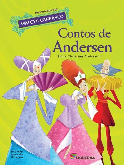 Capa Contos de Andersen