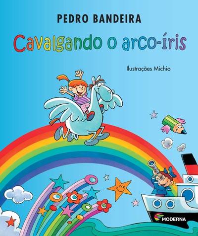 Capa Cavalgando o arco-íris