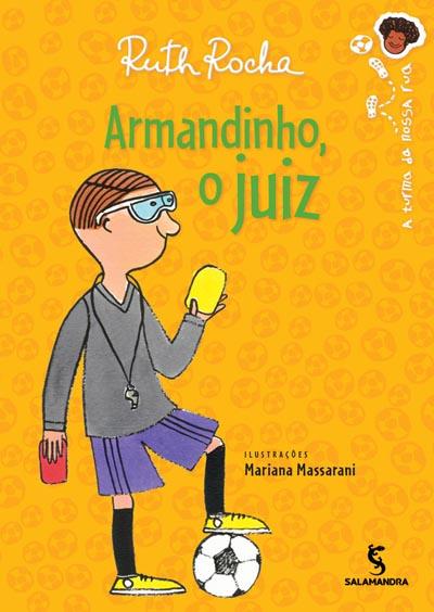 Capa Armandinho, o juiz