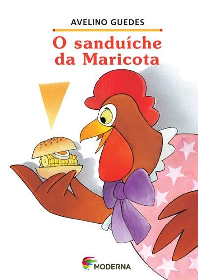 Capa O sanduíche da Maricota
