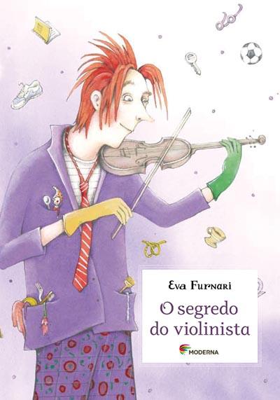 Capa O segredo do violinista