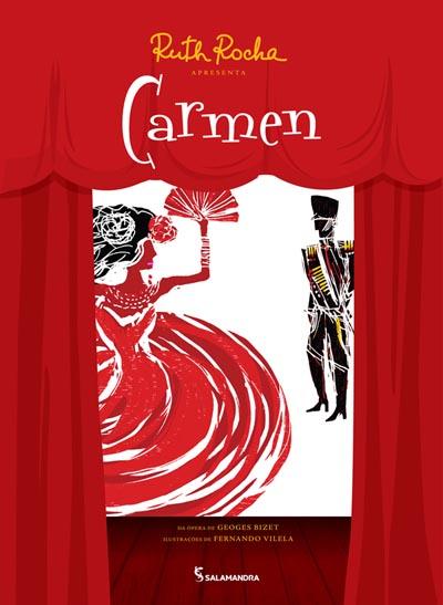 Capa Ruth Rocha apresenta Carmen