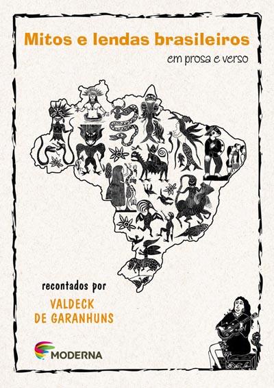 Capa Mitos e lendas brasileiros em prosa e verso