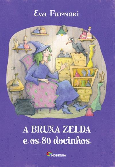 Capa A bruxa Zelda e os 80 docinhos